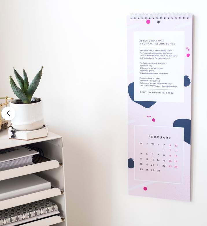 kalender: tweede druk